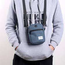 Fashion Women Korean Waterproof Men Mini Shoulder <b>Multi</b> ...