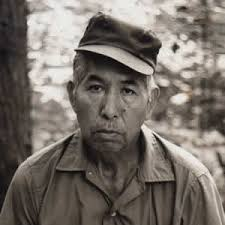Mask maker Allen Long (1917-1983) was the son of Will West Long (1870-1947), Cherokee medicine man and an authority on Cherokee cultural traditions. - Carvers_AllenLong_Portrait