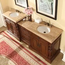 jill bathroom configuration optional: silkroad exclusive ampquot double sink bathroom modular vanity set