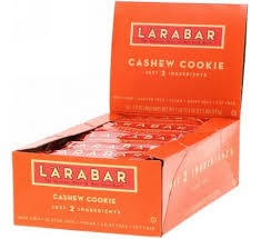 Larabar, <b>Печенье с кешью</b>, <b>16</b> печений, 1,7 унции (48 г) каждое