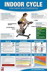 <b>Exercise Bike</b> Chart - <b>Indoor</b> Cycle <b>Stationary Bicycle</b> Professional ...