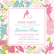 marvellous tinkerbell birthday party invitations printable engaging tinkerbell party invitations wording