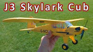 <b>WLToys A160</b> J3 Skylark Cub Micro Plane Review 🛩️ - YouTube