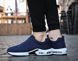 No.66 TOWN Womens Mens Air Cushion <b>Flyknit</b> Running Shoes ...