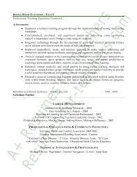elementary teacher resume sample page 2 resume sample for teaching