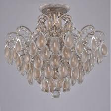 <b>Потолочная люстра Crystal Lux</b> Sevilia PL4 Gold в спальню для ...