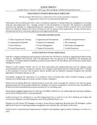 good resume summary cipanewsletter sample human resources resume berathen com