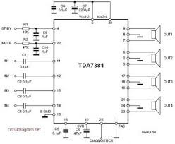 tda x w quad audio amplifier circuit diagram circuit diagram    tda x w quad audio amplifier circuit