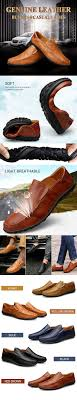 <b>Large Size Men</b> Genuine Leather Comfortable Slip On <b>Business</b> ...