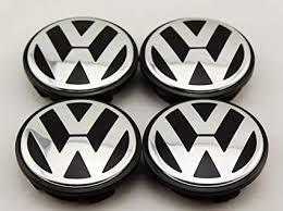 AOWIFT <b>4 pcs</b> 65mm Wheel Center Cap Hub Cover for <b>VW</b>