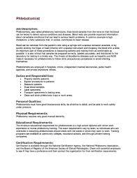 phlebotomist resume cover letter phlebotomy resume writing phlebotomist resume cover letter phlebotomy resume