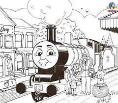 Small Picture Thomas The Train Coloring Pages For Toddlers Coloring Coloring Pages
