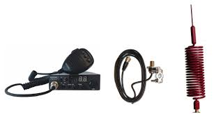 Moonraker Minor II Plus 80ch <b>12v</b>/<b>24v</b> CB Radio + <b>Red Mini</b> ...