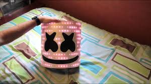 <b>Marshmello</b> V2 Helmet with <b>LEDs</b> - TUTORIAL - YouTube