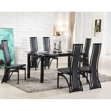 black glass dining table ideas k middot black glass dining table