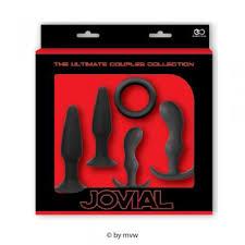 MVW Shop - Jovial The <b>Ultimate Anal Kit</b> 5 pcs Black