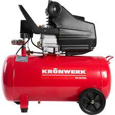 <b>Компрессор масляный</b> Kronwerk, 50 л 206 л/мин. 1.5 кВт в Москве ...