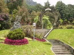 is the huge tropical garden located inwards Bedugul BaliBeach; Bali Botanical Garden - Kebun Raya Bedugul