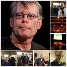 news events fairfield writer s blog stephen king david williamson vip reception collage