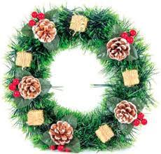 Новогодние венки в Минске. Купить рождественский венок по ...