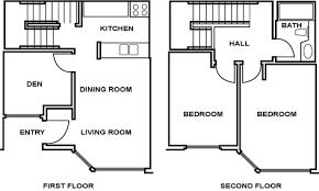 Townhouse  Floor plans and Floors on Pinterest