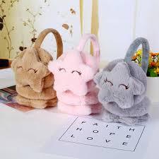 New <b>Cute Winter Warm</b> Earmuff for Girls and Boys Plush <b>Warm</b> ...