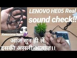 <b>Lenovo HE05</b> Wireless <b>Bluetooth</b> Neckband Review.!! Dont Forget ...