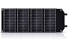 100W <b>Solar Panel</b> Charger <b>Kit 18V</b> Foldable Waterproof Camping ...