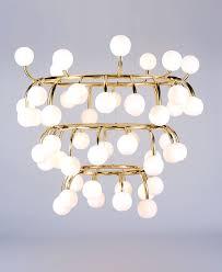 pollen concentric structure chandelier design 1 british lighting designers