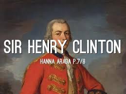 「Sir Henry Clinton,」の画像検索結果