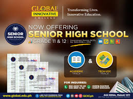 global city innovative college applies st century learning to global city innovative college gic now applies 21st century learning to senior high school six or seven years in elementary four years in high