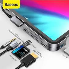 Baseus Type C USB HUB <b>Multi function</b> Adaptor USB C Hub ...