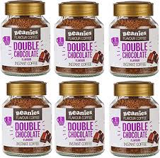 Beanies Double <b>Chocolate</b> Flavour Instant <b>Coffee 50g</b>, 6 Pack ...
