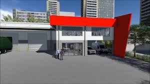 Small Picture Warehouse Office Building Seventeen Mile Rocks Brisbane 3D