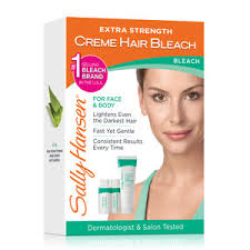 <b>Sally Hansen Extra</b> Strength Creme Hair Bleach for Face & Body ...