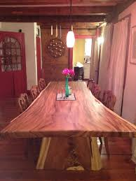 wood slab dining table beautiful: our beautiful monkey wood slab dining table from mohr and mcpherson in boston ma inspiration home on the range pinterest wood slab dining tables