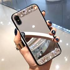 Diamond Mirror Mobile Phone Case Shell for iPhone Sale, Price ...