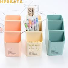 <b>1PC</b> Multi function <b>Plastic</b> PP Desktop <b>Storage</b> Box Case 4 Grid Sub ...