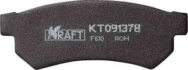 <b>Комплект задних тормозных</b> колодок Kraft, для Chevrolet Lacetti ...