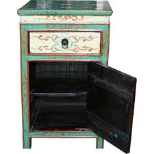 tibetan painted bedside table bedside tables chinese furniture chinese antique amazoncom oriental furniture korean antique style liquor