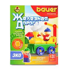 Игровой <b>набор Bauer ЭКО</b> Ж/Д 32 элемента в коробке - купить c ...