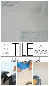 subway tiles tile site largest selection: how to tile a bathroom floor dont let this diy job intimidate