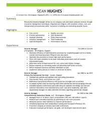 management resume examples management sample resumes livecareer general manager resume example create my resume