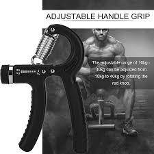 <b>2Pcs Adjustable Hand</b> Grip Exerciser Strength Wrist Forearm Muscle ...