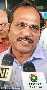 Minister of State for Railways Shri Adhir Ranjan Chowdhury