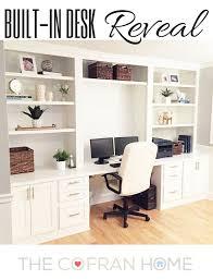 built in desk reveal built in study furniture