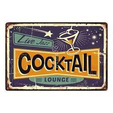 2019 <b>Mike86</b> Margarita <b>Cocktail</b> Lounge Metal Plate Hawaii Wall ...