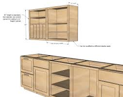 how to make kitchen cabinets: ana white build a wall kitchen cabinet basic carcass plan free and easy diy