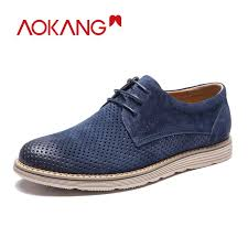 <b>AOKANG New Arrival</b> Shoes Summer Men Luxury Brogue Mens ...