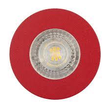 Красный точечный <b>светильник встраиваемый Denkirs DK2030</b>-<b>RE</b>